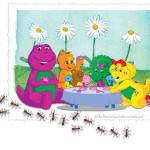 La marcha de las hormigas