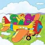 Vamos volando en un avion